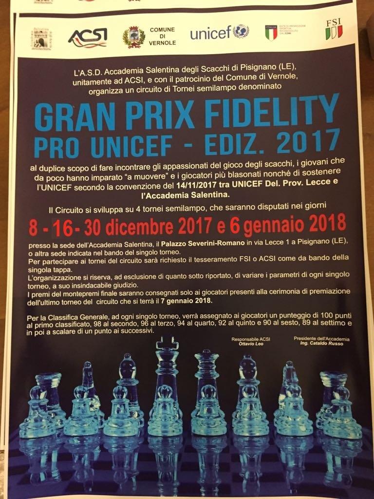 Calendario Tornei Scacchi.13 Torneo Semilampo Dell Immacolata Val Elo Rapid Gpsp